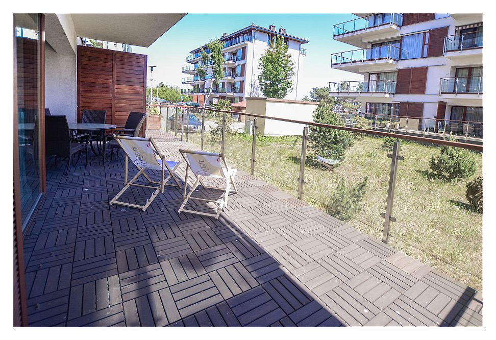 Appartement mit Schlafzimmer fur 2-4 Personen - ul. Uzdrowiskowa  28-34 - Appartements am Strand in Swinoujscie, Wohnung mieten in Swinoujscie, mit Garage, Balkon, kostenloss WLAN